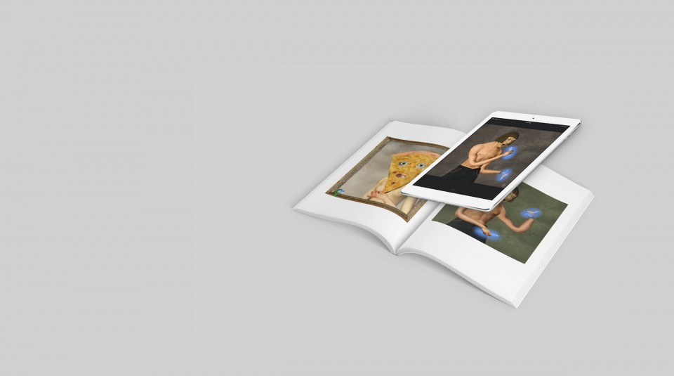 Augmented Reality Book by Scorpion Dagger